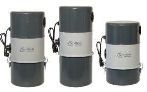 Alfavac Pro serisi merkezi süpürge sistemi ana üniteleri