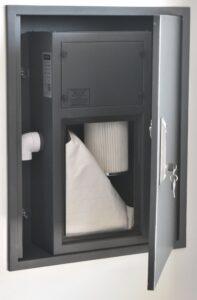 Alfavac flush serisi merkezi süpürge sistemi ana üniteleri